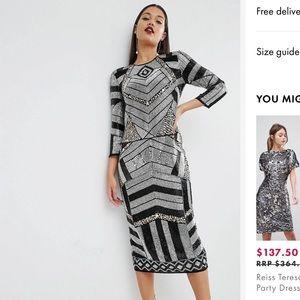2ef6dfed5ede Women Asos Embellished Dress on Poshmark